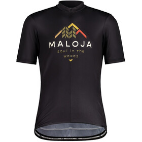 Maloja SchwarzerleM. 1/2 Short Sleeve Bike Jersey Men moonless